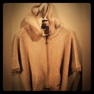 Burberry Blue Label Poncho Sweater